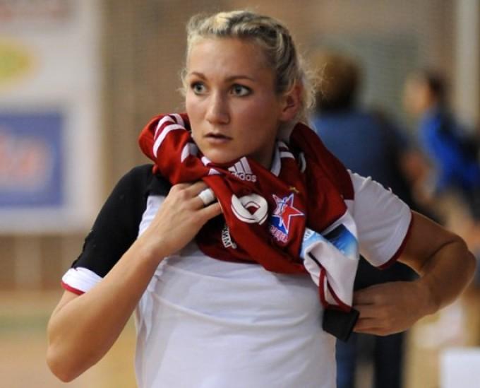 Лидер сборной России по гандболу Полина Кузнецова-Вяхирева