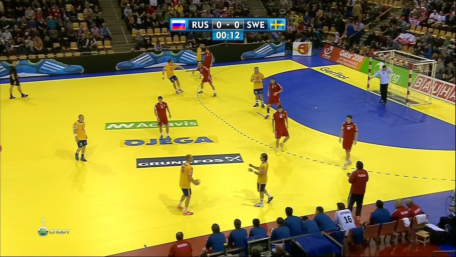 Россия — Швеция: определяющей матч Евро-2016